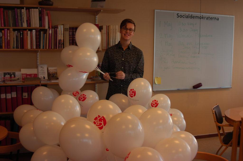 Isak med ballongerna
