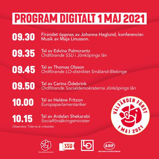 Program maj 21